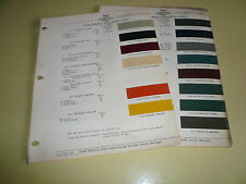 1947 Packard ACME Color Chip Paint Sample