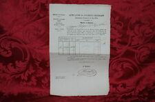 Antico Documento Regno d'Italia Esattoria di Cortile San Martino Parma 1870