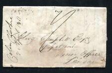 1811 Spain prephilatelic cover to London Napoleonic wars