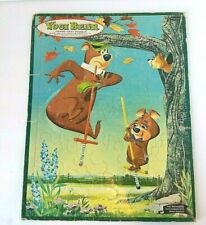 Vtg Yogi Bear Puzzle Hanna-Barbera Whitman Frame Tray 1961