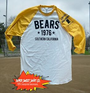 Bad News Bears T-Shirt Raglan Baseball California Great Gift for Boyfriend Dad