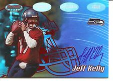 2002 Bowmans Best Jeff Kelly Autograph Red Version Rookie Football Card #139