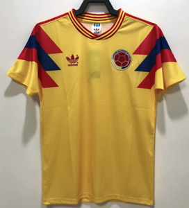 Colombia 1990 Home Retro Football Jersey vintage Shirts
