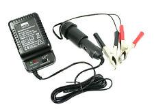 6V et 12V Chargeur pas. F.SIMSON S51 Schwalbe MZ battarie Batterie GEL PLOMB