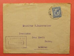 DR WHO 1920 LEVANT GB BRITISH PO CONSTANTINOPLE TO LONDON 184155