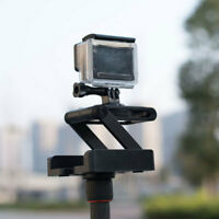Z Type Plastic Foldable Camera Folding Tripod Tilt Head Quick Release Plat XEY
