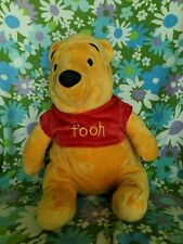Winnie the Pooh Large Plush Bear with Back Straps and Zipper Area approx 14""