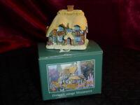 LILLIPUT LANE Honeysuckle Cottage Dream Cottage Miniatures 1995 271 Boxed