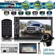 For 2004-16 FORD F150/250/350/450/550 2Din CD/DVD BLUETOOTH USB AUX Radio Stereo