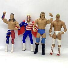 WWE Classic Mattel Action Figure Bundle - Sting, Sid Justice, British Bulldog