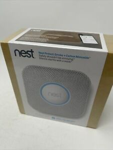 Nest Protect S1001BW Carbon Monoxide Smoke Detector New Sealed