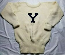 Vintage Yale University Wool Sweater Ivy League Iconic Varsity