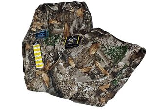 Men's Realtree Edge Scent Control Wind & Water proof Camo Hunting 2XL PANTS NWT