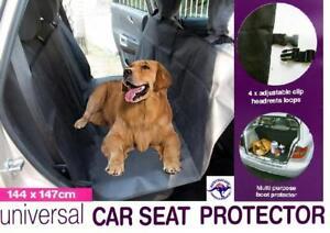 Pet Car Seat Cover Waterproof Hammock Back Seat Boot Protector Mat 144x147cm