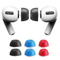 3 Pairs For Apple Airpods Pro Memory Foam Ear Tips Replacement Headphones Buds