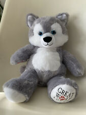 Build A Bear Great Wolf Lodge Grey Wolf Exclusive USA