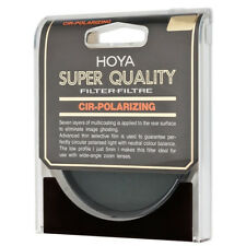 NEW Genuine HOYA 58 mm CIRCULAR POLARIZING SUPER HMC MULTI-COATED GLASS FILTER