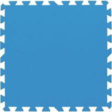 Tappeto fondo telo base piscina 8 piastrelle 50 x 50 cm 2 mq Bestway 58220