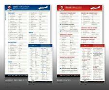 Beechcraft Bonanza A36 285HP Qref Checklist Card