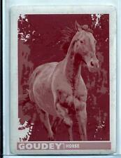 2017 Upper Deck Goodwin Champions Goudey GA4 Horse Magenta Printing Plate 1/1