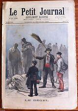 Le petit Journal 11/02/1893; Le Dégel/ Un protecteur