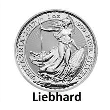 2£ Silber / Silver Großbritannien / UK Britannia 2017 1 OZ