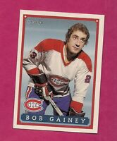 RARE 1992-93 OPC #  16 CANADIENS BOB GAINEY FANFEST LIMITED /5000 CARD