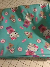 52x22 Standard Daycare cot sheet 1 hello kitty nurse print