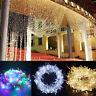 colgando Boda cortina LED String Decoracion de Navidad Las luces de hadas
