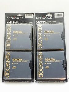 Kenwood 6-CD Magazine CDM-602 CDM-600  - Lot of 4 New