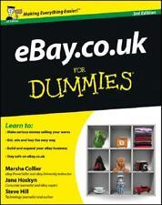 eBay.co.uk for Dummies by Marsha Collier, Jane Hoskyn, Steve Hill