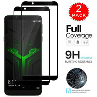 For Xiaomi Black Shark 2 Pro - FULL COVER Tempered Glass Screen Protector 2-Pack