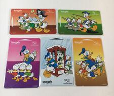 5 Disney Phone Cards New Zealand Telecom Friends Of Mickey Pt 4 Huey Dewey Louie