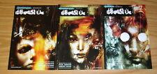 Shadowman Presents Deadside #1-3 VF- complete series - ashley wood  paul jenkins