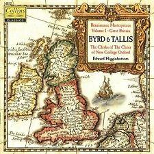 Byrd Tallis Renaissance Masterpieces Vol 1 Great Britain (CD Collins 1996)