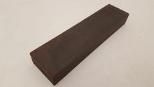 """8 x 2"""" Vintage Fine & Coarse Carborundum Sharpening Stone 25177"""