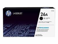 Genuine HP LaserJet 26a Black CF226A Toner Cartridge OEM