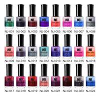 NEE JOLIE 7.5ml Thermal Color Changing Nail Polish Glitter Sequins Varnish Tips