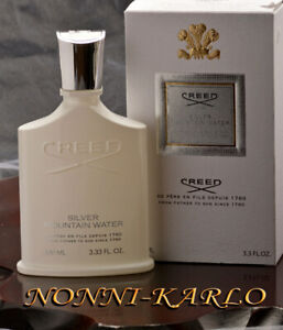 "CREED FRAGRANCE ""SILVER MOUNTAIN WATER"" For Man/ Eau De Parfum/ 3.3 Fl.Oz./100ml"