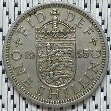 GREAT BRITAIN - 1955 - 1 Shilling Elizabeth II #CAMT