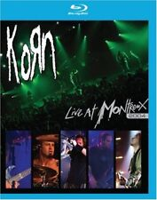 KORN LIVE AT MONTREUX 2004 New Sealed Blu-ray Cut UPC Barcode