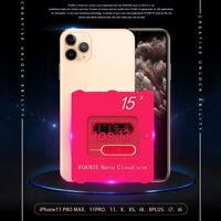 UK R-SIM15 Nano Unlock RSIM Card For iPhone 11 Pro XS Max XR 8 7 6s Plus iOS13