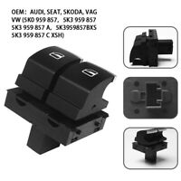 ABS FRONT DRIVERS RIGHT WINDOW SWITCH PACK 2 DOOR FIT FOR VW GOLF MK6 2009-2012