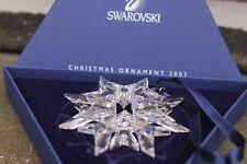 Swarovski Weihnachtsstern 2003 mit Ovp. Top Zustand.