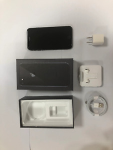 Original Unlocked Apple iPhone 8 Black ROM 256GB iOS Used Phone 12.0MP Hexa Core