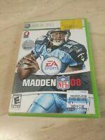 Madden NFL 08 Xbox 360 EA Sports