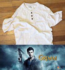 NBC Grimm TV Show Prop Wardrobe Worn Shirt Hundjager Human