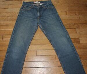 LEVIS 505 Jeans pour Homme W 29 - L 30 Taille Fr 38 (Réf # O123)
