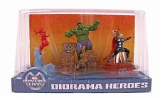 Marvel Universe Live Diorama Heroes Iron Man Hulk Thor 3 Figures Statues Toys