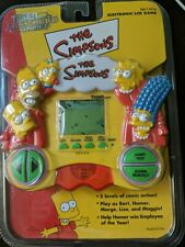 Tiger Handheld Electronic Lcd Premiere Games The Simpsons 1999 RARE Sealed